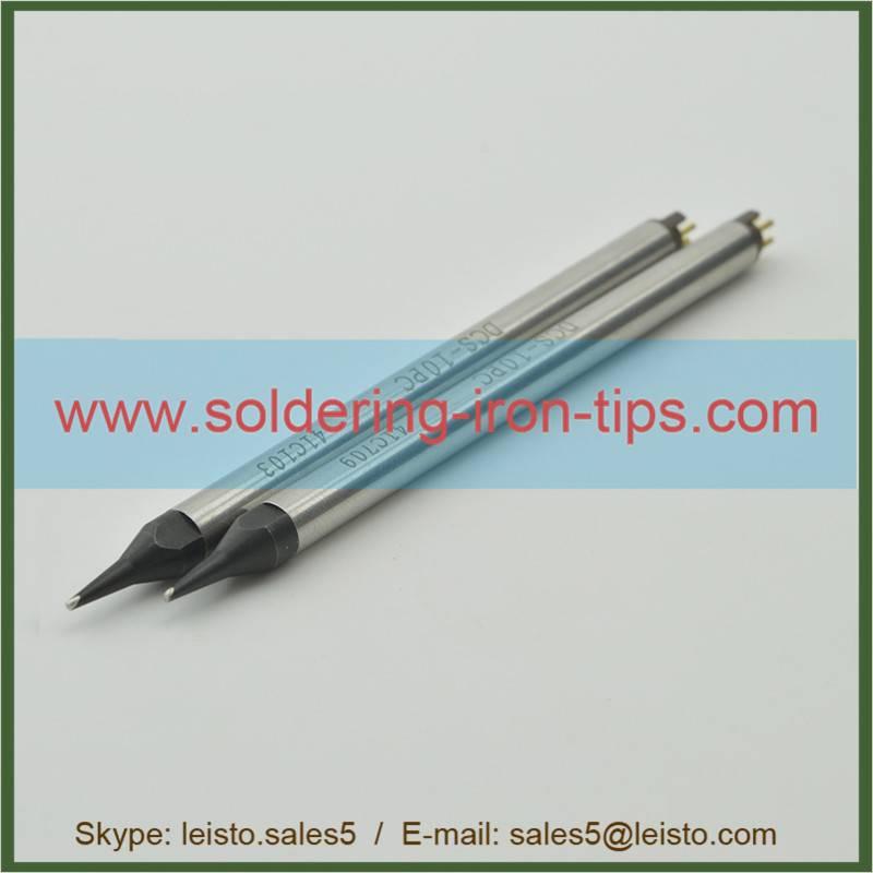 Lead-free black chromium Apollo Seiko  DS-10PCA-B/DCS-10PC Nitrogen Soldering Tip DCS series tips Ap