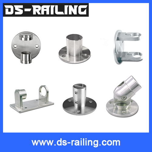 Safety Solid 304 Angle Adjusted Stainless Steel Casting Handrail Base