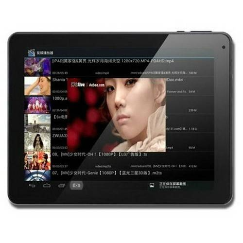 CHUWI V19 9.7 Inch 1.6GHz RK3066 Dual Core Tablet PC Android 4.1 16GB Dual Camera HDMI WIFI MID Silv