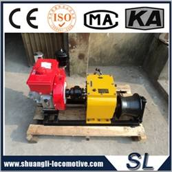 Gasoline or Diesel Engine Powered Rope Pulling Winch