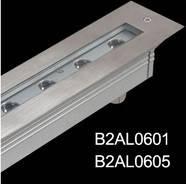 6X1W LED inground light