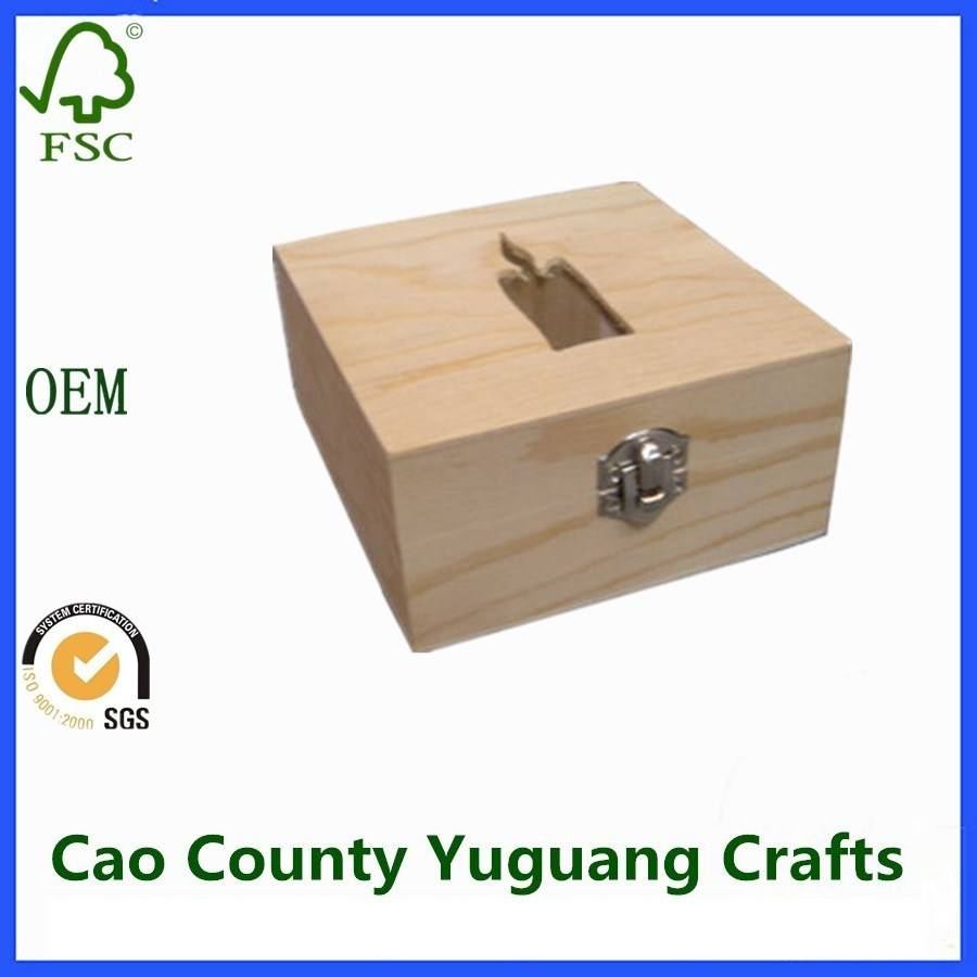 Candle Gift Box Wooden Candle Packaging Boxes