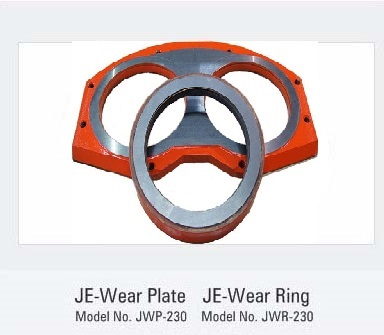 Concrete Big mouth Wear Plate & Big mouth Wear Ring