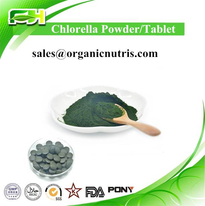 New Certified Organic Chlorella, Chlorella Tablet, Chlorella Powder
