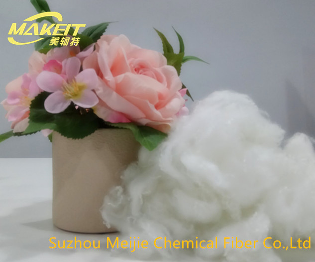 Virgin Hollow conjugated siliconized polyester staple fiber