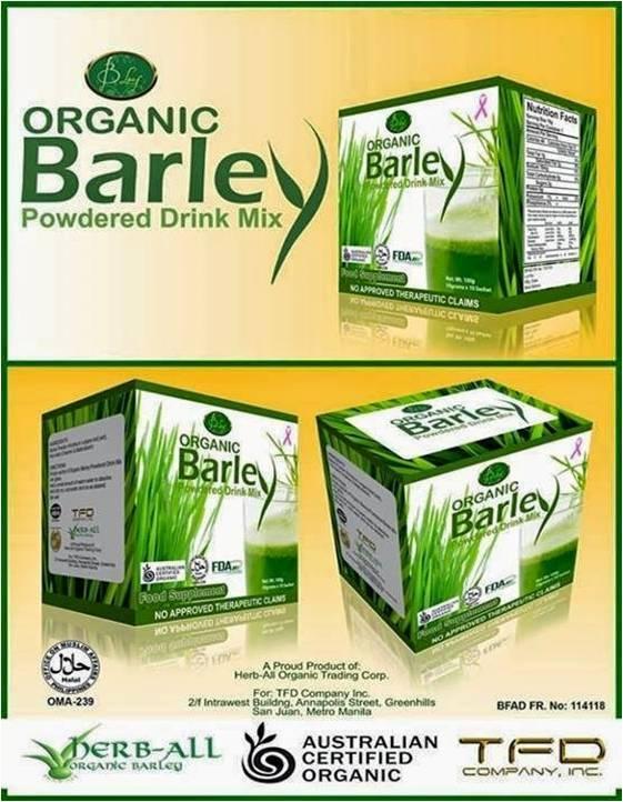 Barley juice