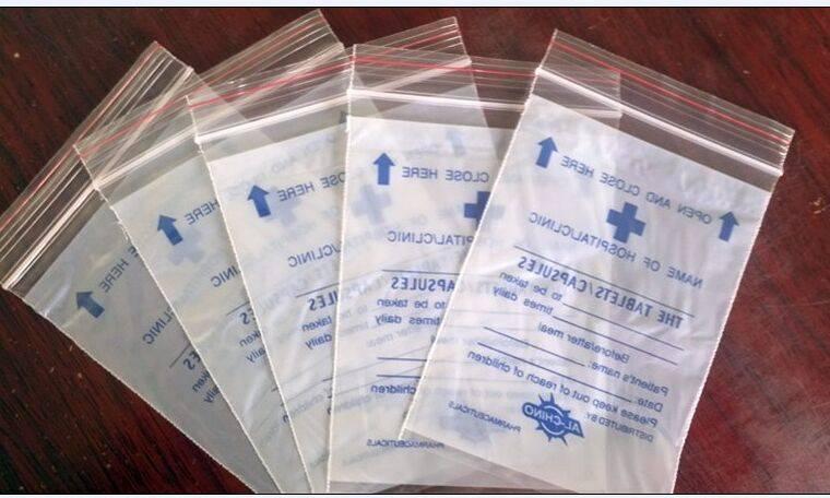 medical reclosable bag