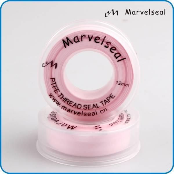 Pink PTFE tape PinkPTFE thread seal tape teflon tape