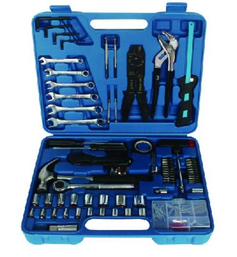 96PCS Hardware Tool Set, Hand Tool Kit with Allen Wrench
