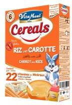 VITAMEAL BABY - Cereals - Rice Milk & Carrots