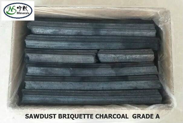 100% Natural Hardwood BBQ Sawdust Briquette Charcoal for Restaurant