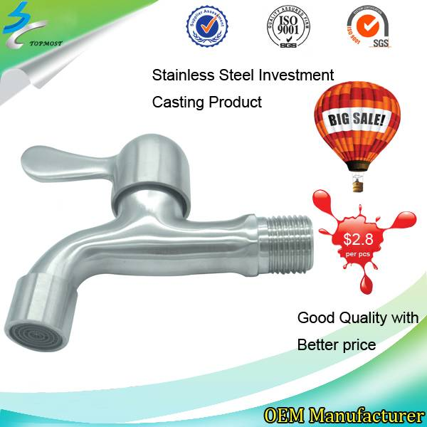 Stainless Steel Water Laundry Bathroom Faucet in Bathroom Accessories