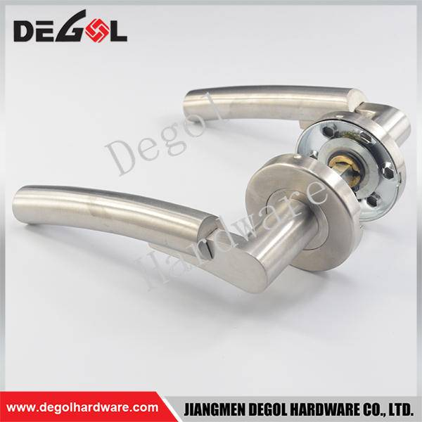 Chinese wholesale stainless steel solid ss door handle jiangmen