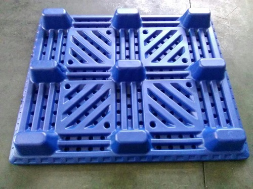 Light-Duty Euro Single Face Grid Pallet with 9 Feet