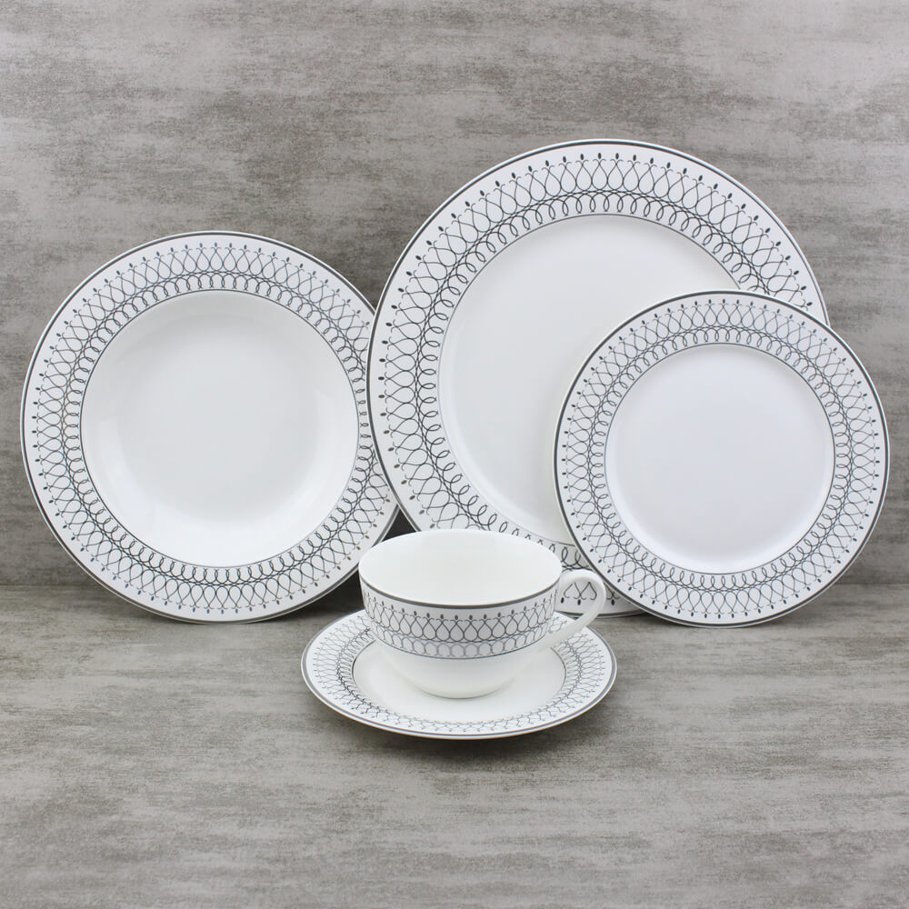 country replacement dinnerware