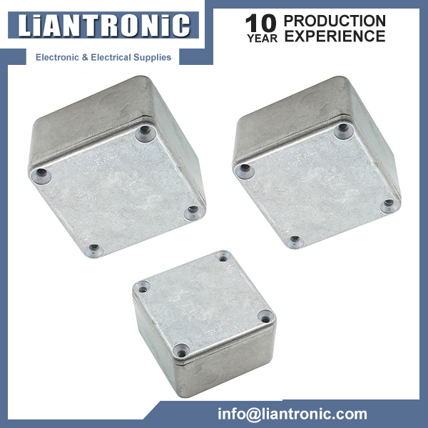 Hot 50X50X27mm 1590LB Style Aluminum Stomp Box Effects Pedal Enclosure for Guitar