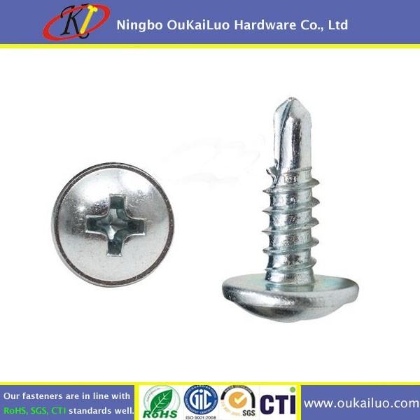 Stainless Steel 316 Phillips Mushroom Head Self Drilling Screws