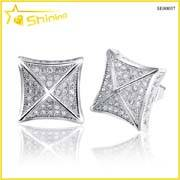 iced out bling bling hip hop earrings for men