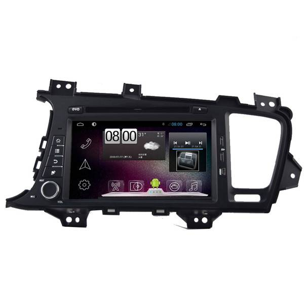 800*480 8inch Android 4.4 Car DVD Player For KIA K5 GPS Navigation Bluetooth