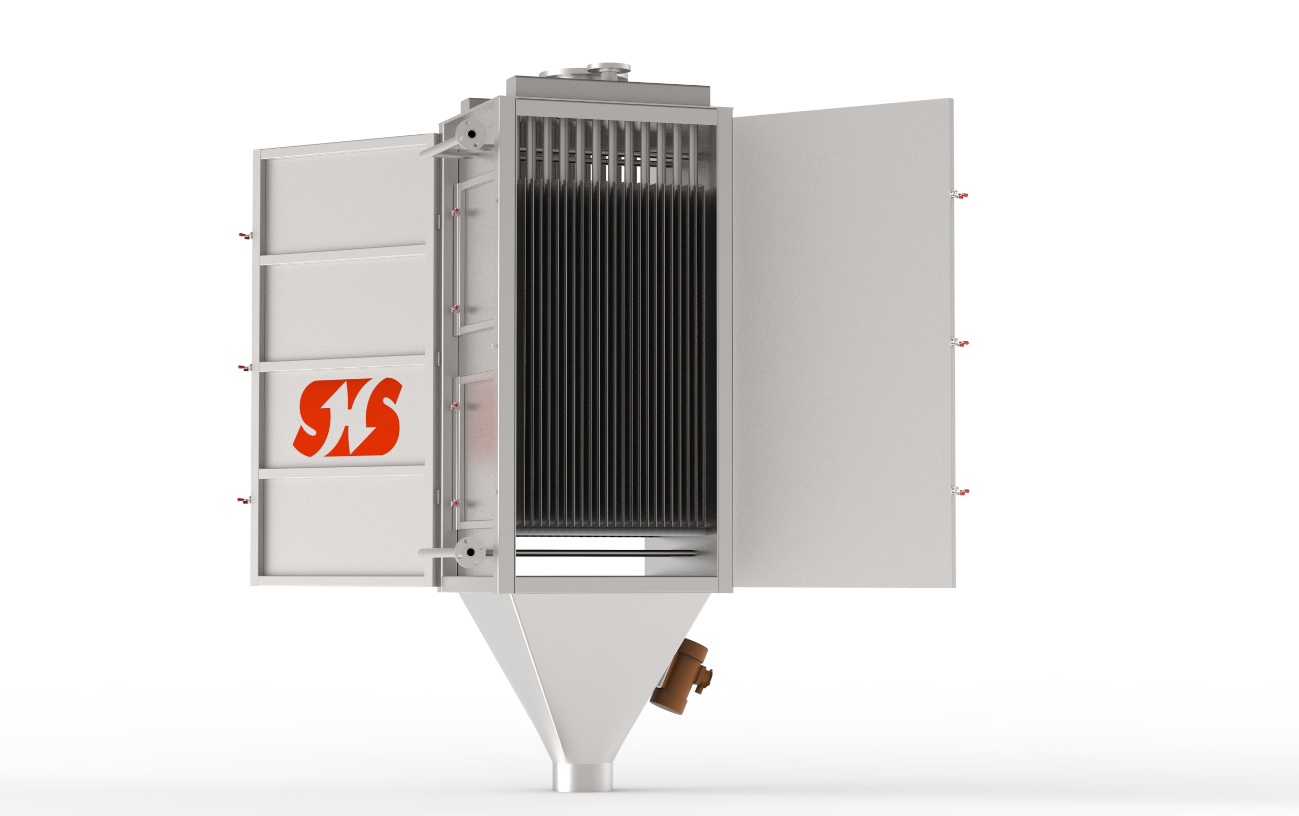 Fluid Bed Dryer Operation Replacement Energy Saving and Environment Protection Heat Exchanger