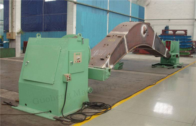 1T-100T Head and Tailstock Welding Positioner