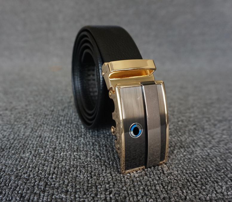 Head layer cowhide boutique business men's belt (J0124)
