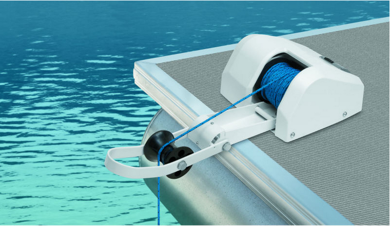 Marine Boat 12V Electric Anchor Winch Saltwater 35LBS