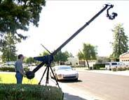 30ft length Camera Crane of Jimmy Jib super plus