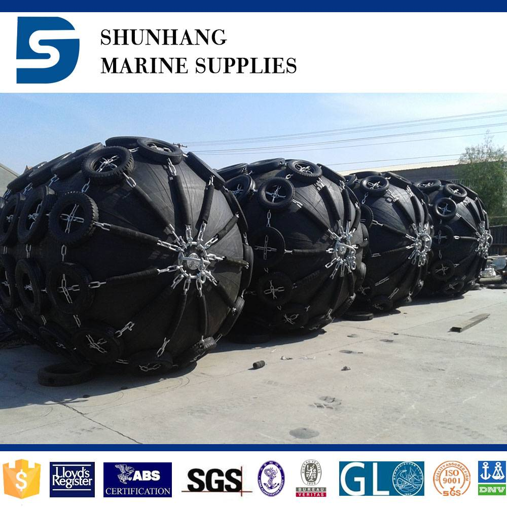 high pressure floating natural marine rubber fender