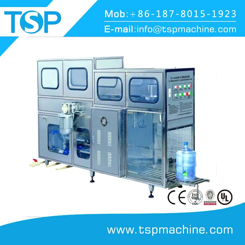 Automatic 5Gallon or 20L Bottle Water Washing Filling Capping Machine