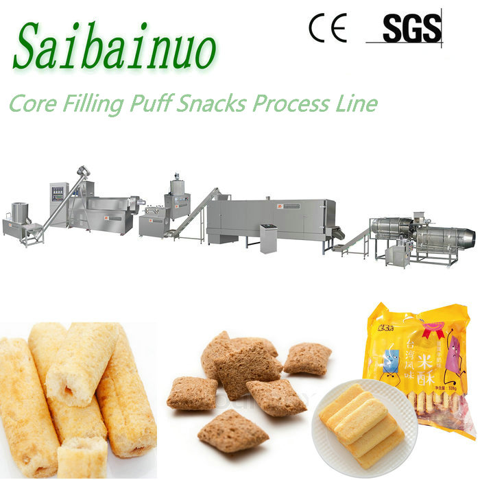 China Core Filling Snacks Food Manufacturing Machinery
