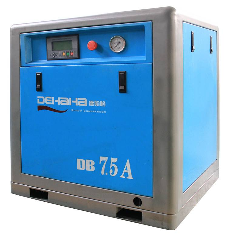 5.5kw Belt Driven Screw Air Compressor