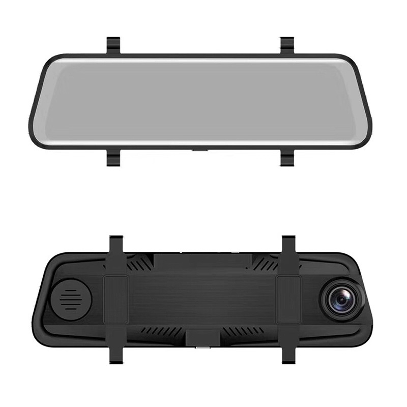In-car monitor mirror camera/dual record car dvr/10180p car black box