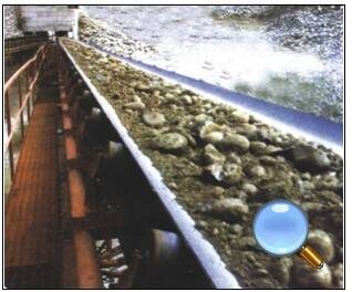 cold-resistant rubber conveyor belt