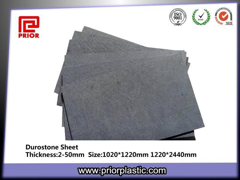 China Factory Black Durastone Sheet