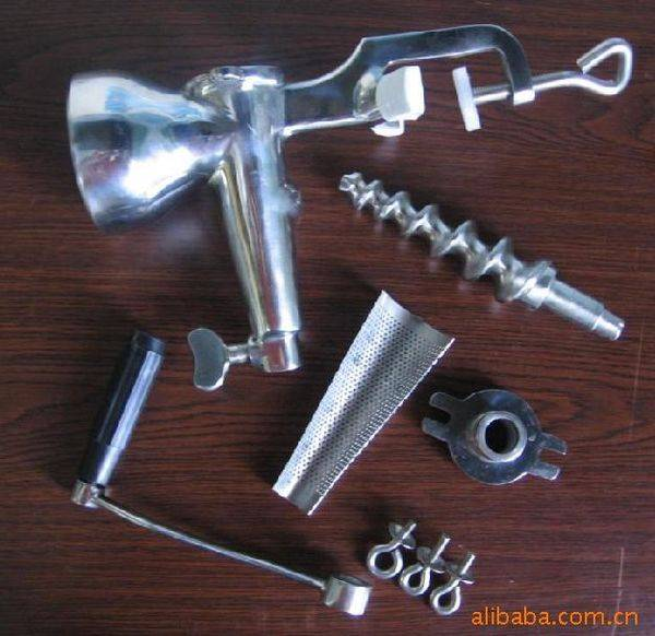 stainless steel meat mincer spare parts