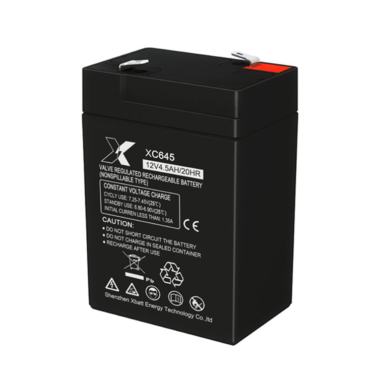 Xbatt 6V4.5AH lead acid battery for UPS 6V battery