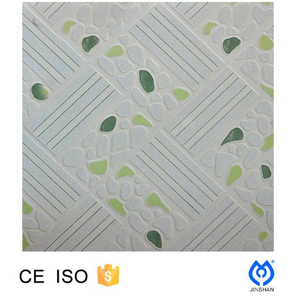 300*300*8mm ceramic glazed floor tile with edge polished