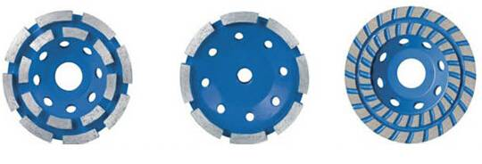 Diamond Cup Wheel for Grinding Double Row
