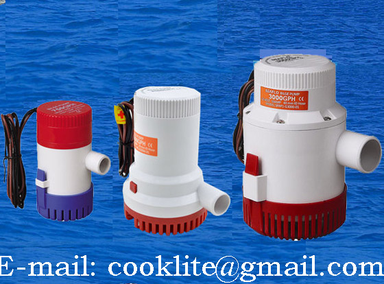 Bilge Water Pump / Marine Bilge Pump / Electric Bilge Pump