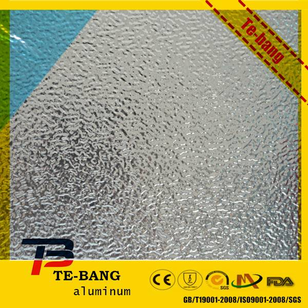 Anti-rust high quality embossed aluminum sheet for decoration