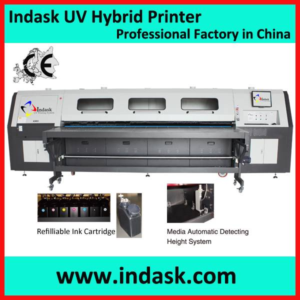 Indask Hybrid uv printing machine FR3210