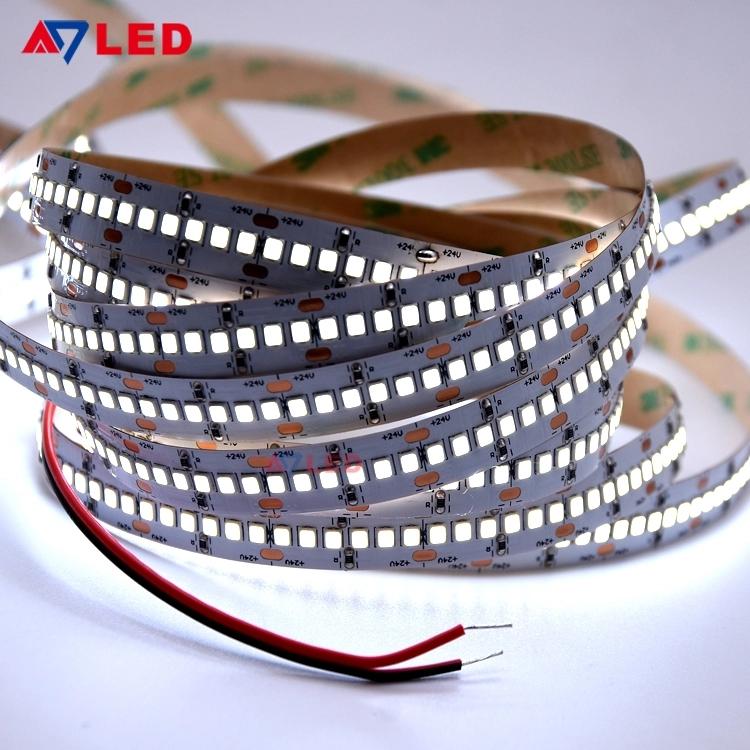 Adled Light LED Tape Light 24V 12mm width 2835 240leds led strip rope lights for lamp post light box