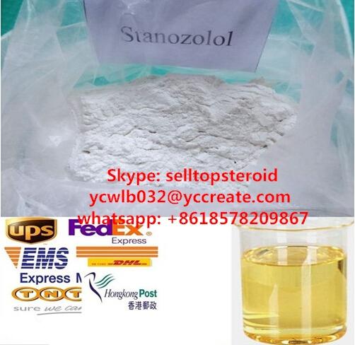 Bodybuilding Steroids Stanozolol Winstrol Oil Base/ Water base 50mg/ml