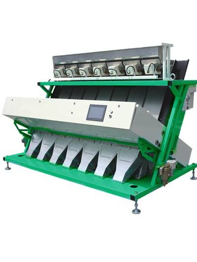 Rice CCD color sorter,high speed ,reliable quality