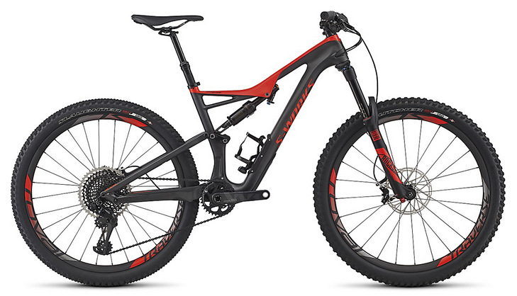 2017 Specialized S-Works Stumpjumper FSR 650B MTB