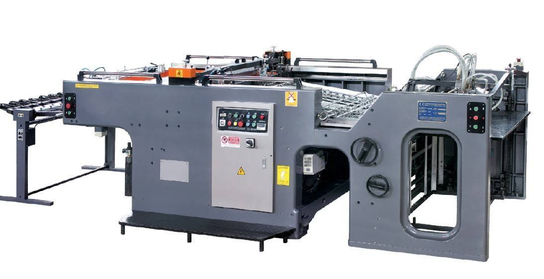 Automatic cylinder screen press