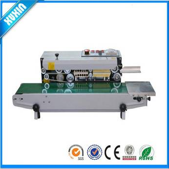 continuous plastic bag sealing machine printed the date x-900