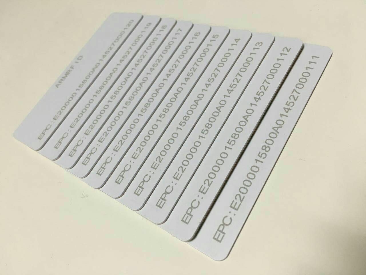 UHF smart card