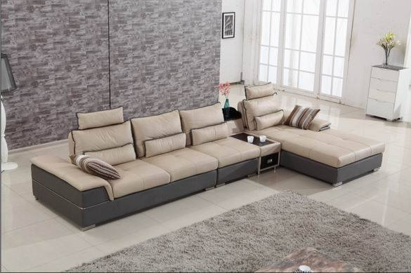 Steel Feet Chaise Lounge of Home Sofa Furniture Set